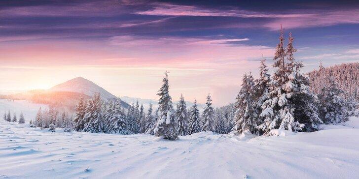 Mikuláš, advent nebo lednová lyžovačka v Krkonoších + zvýhodněná cena za děti