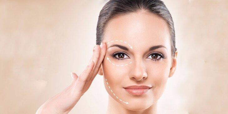 Vyžehlení vrásek pomocí Exilis Face a regenerace pokožky kolagenovou kúrou