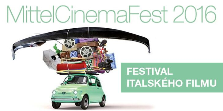 2× vstupenka na Středoevropský festival italského filmu do kina Lucerna
