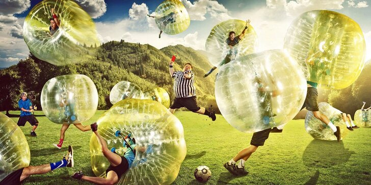 Bumper ball: Zábava pro partu nebojácných přátel