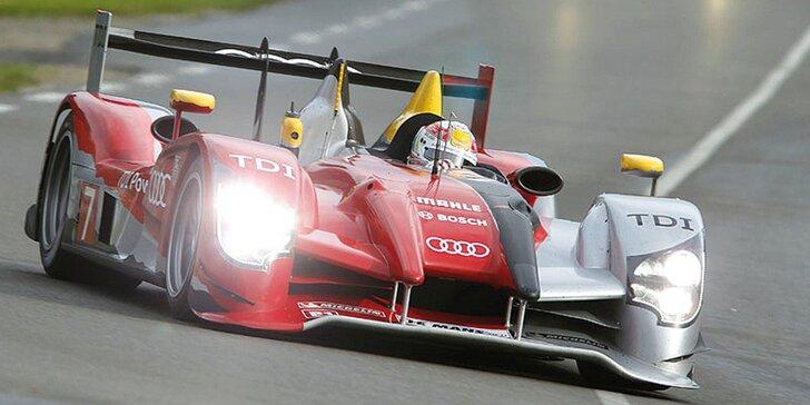 Vzhůru na automobilový závod 24 hodin Le Mans - doprava a 2 noci na tábořišti