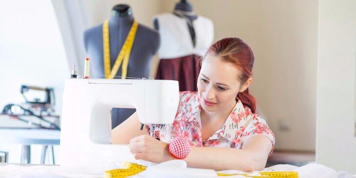 Jednodenní kurzy šití: Vyrobte si kabelku, triko nebo sukni