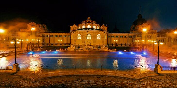 Adventní Budapešť: vánoční trhy či secesní lázně Széchényi