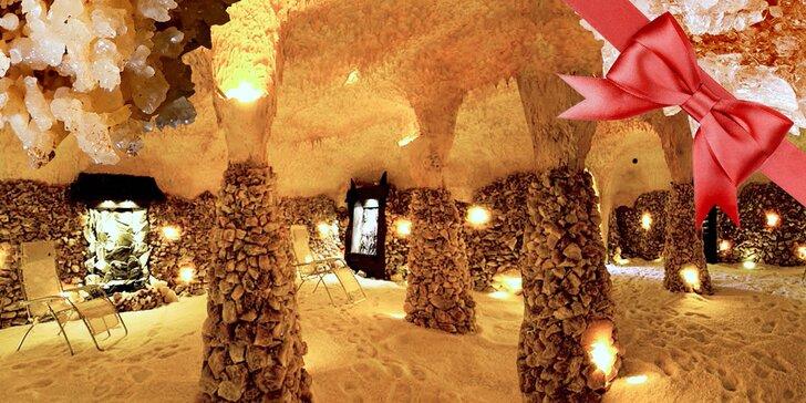 Zdravá relaxace v solné jeskyni Solana v Olomouci