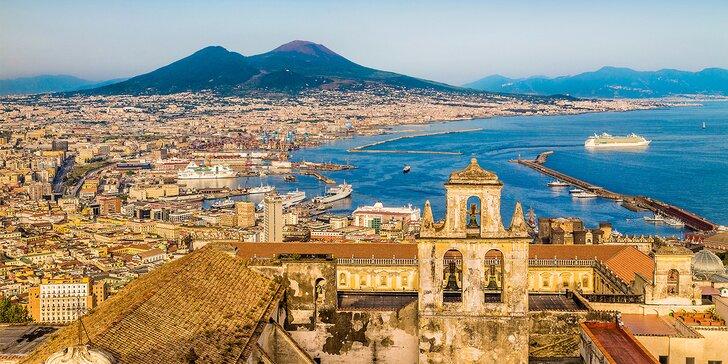 Zájezd do Itálie: Řím, Neapol, Pompeje i procházka kolem kráteru sopky Vesuv