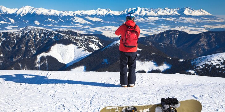 Lyžování i túry s bohatou polopenzí a wellness pro dva ve Vysokých Tatrách
