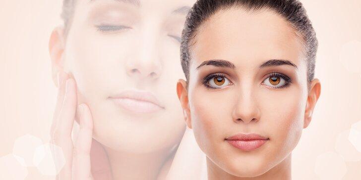 Kompletní kosmetický balíček vč. radiofrekvence a čištění ultrazvukem