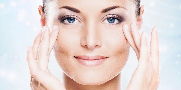 Aplikace botulotoxinu: vyhlazení vrásek v obličeji na místě dle výběru