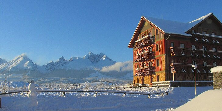 Pohádková zima a jarní prázdniny v Tatrách: 3 - 7 dnů pro dva + slevy na relax