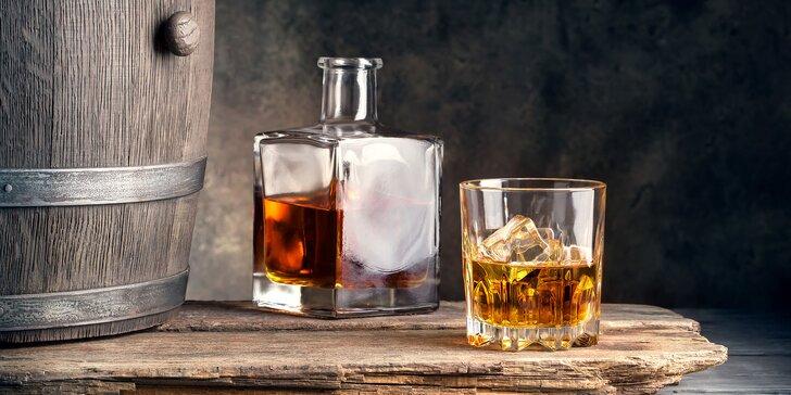 Procestujte svět s dobrým pitím v ruce: 90minutová degustace 6 druhů whisky