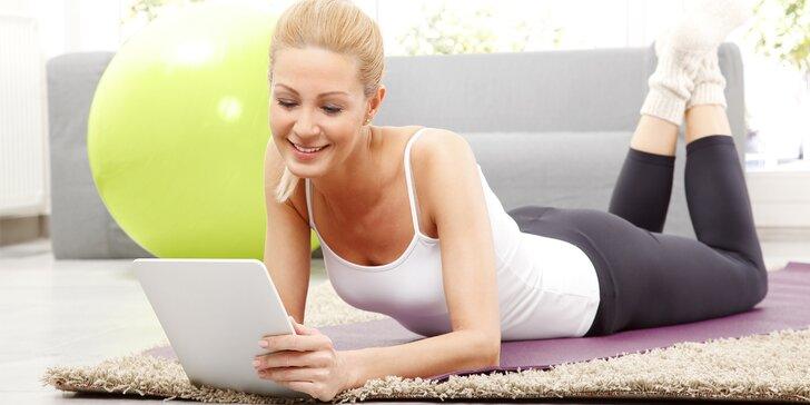 Získejte vysněnou postavu s online trenérem: Zlaté členství na 3 či 6 měsíců