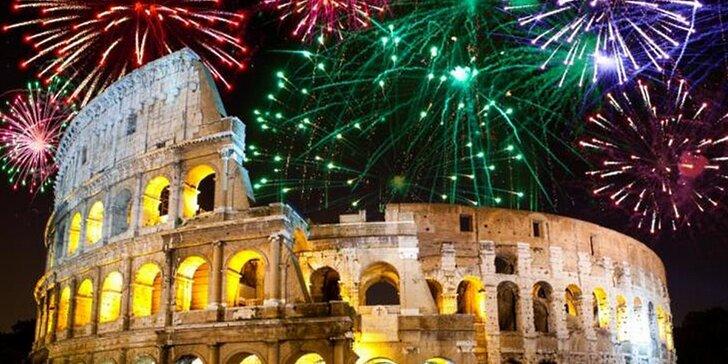 Prožijte báječný Silvestr v Římě s novoročními oslavami: 1x ubytování se snídaní