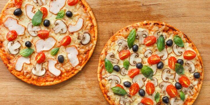 1 + 1 = 2 výtečné pizzy v romantické sušické pizzerii