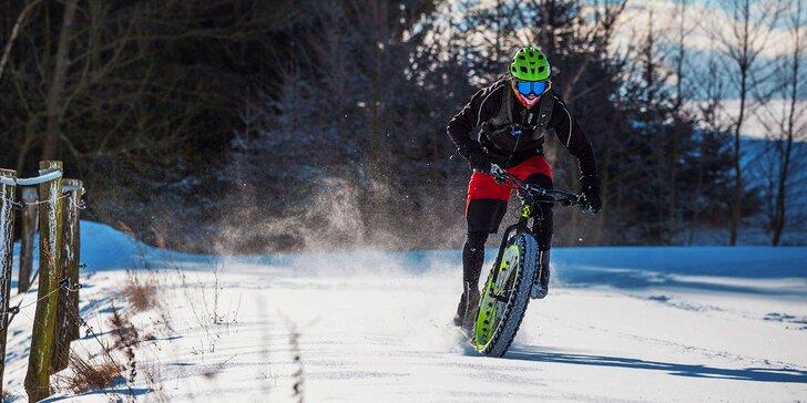 Snowbike na 24 hodin: Zapůjčení speciálního jízdního kola na celý den