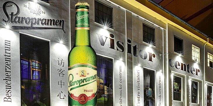 Interaktivní audiovizuální prohlídka v Návštěvnickém centru Staropramen