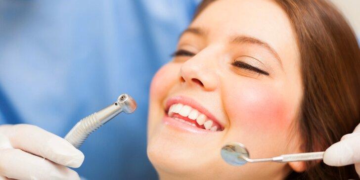 Důkladná dentální hygiena s air flow i bez pro zářivý úsměv