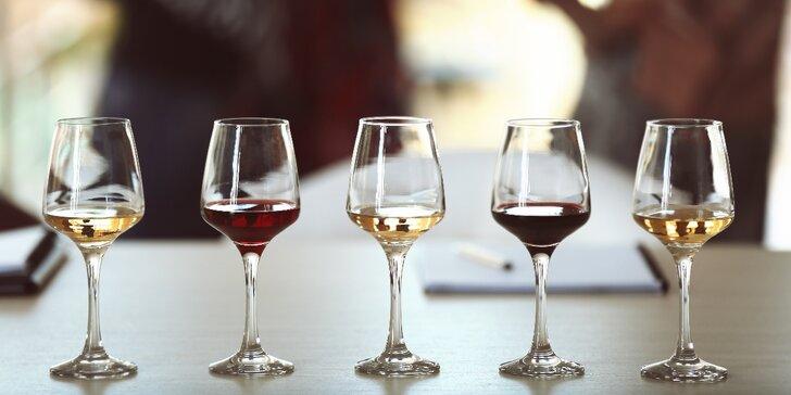 Degustace ve francouzském stylu: Ochutnávka vín a případně i párování se sýry