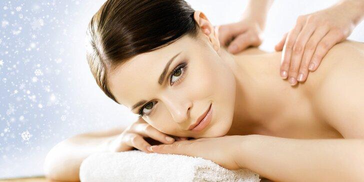 Uvolňující masáže Happy Wellness s možností antistresové masáže hlavy