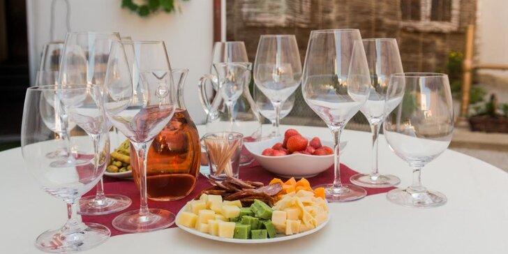 Zážitek pro fajnšmekry: Degustace prémiových vín – tuzemských i ze světa