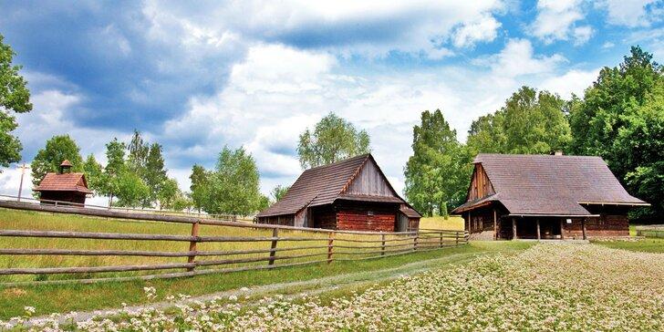 Dovolená na Valašsku: Prostorný apartmán, polopenze i zapůjčení koloběžek