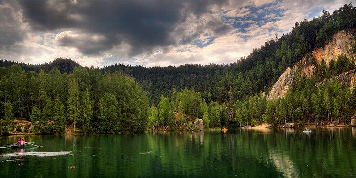 3-5denní dovolená v malebné krajině Adršpachu s polopenzí pro dva