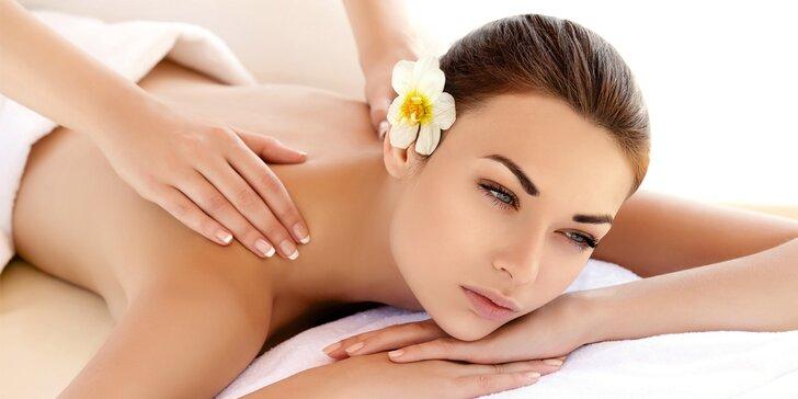 60minutová masáž pro posílení imunity