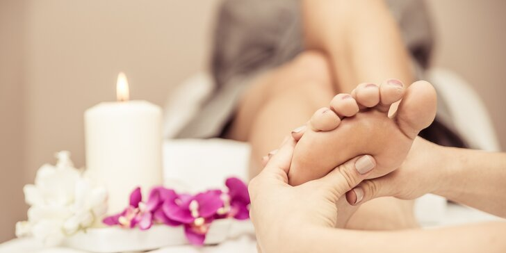 Reflexní masáž nohou - dokonalé uvolnění skrz vaše nárty a chodidla
