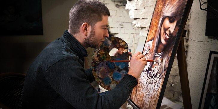 Vytřete zrak múzám: Víkendový kurz malby portrétu podle fotky