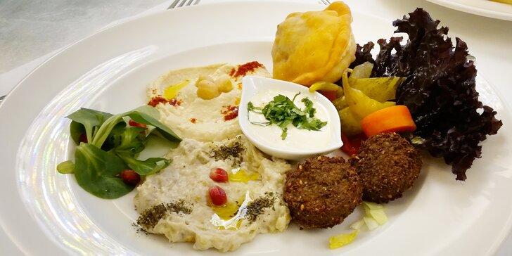 Degustační menu s vůní dálek: Libanonské i aramejské speciality pro 2