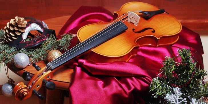 Vánoční koledy v podání smyčcového souboru a varhan v kostele sv. Jiljí