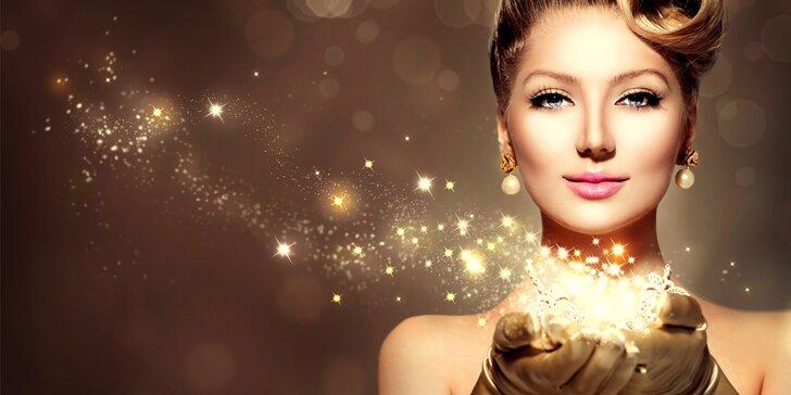 Celkové kosmetické ošetření s čokoládovou masáží obličeje