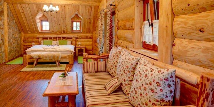 Pobyt s vůní dřeva: 3 dny v překrásném Srubu u Medvěda v malebných Beskydech