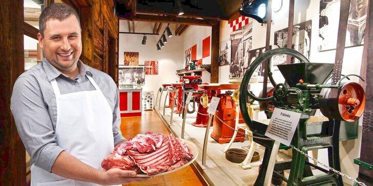 Exkurze v Muzeu řeznictví včetně pohoštění a ochutnávky řeznického piva