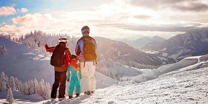 Silvestrovský pobyt v Jizerkách pro dva či celou rodinu: relax, raut i lyžování
