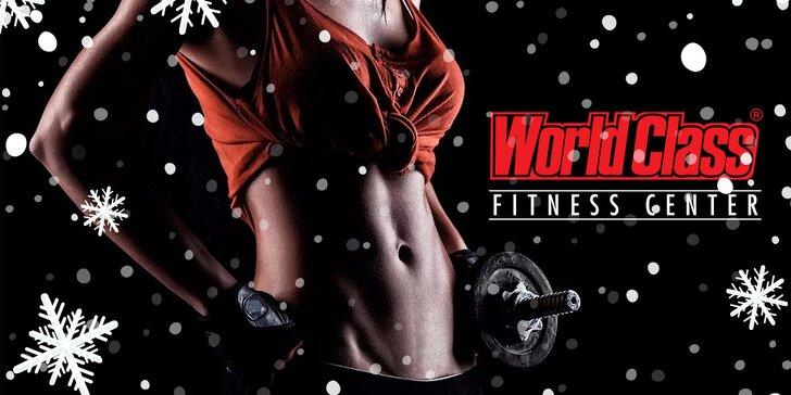 Sportovní dárek: 2měsíční permanentka do World Class fitness na Václaváku