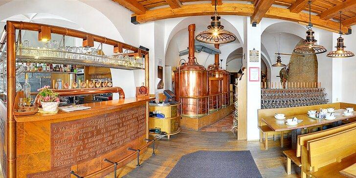 3 dny v Kroměříži plné zážitků: Skvělé jídlo, prohlídka pivovaru nebo i masáž