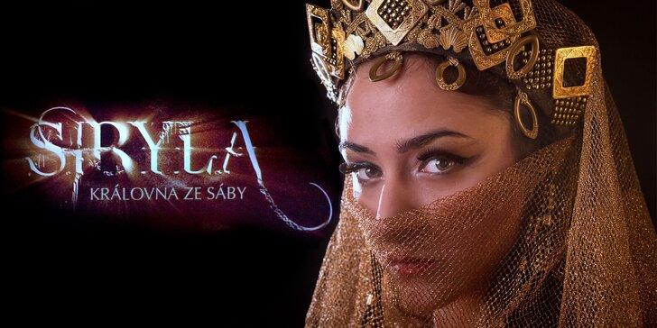 Vstupenky na výpravný muzikál Sibyla – Královna ze Sáby: termíny na leden a únor