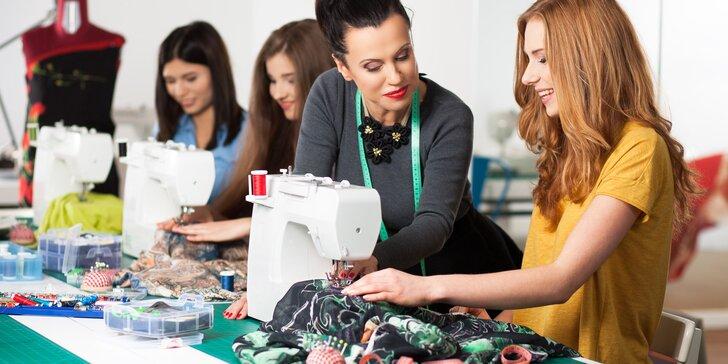 Kurzy šití s časopisem Burda Style pro začátečníky i pokročilé švadlenky