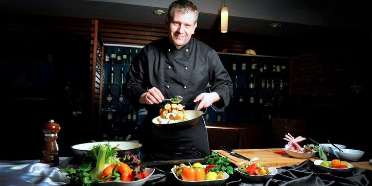 Kurz vaření v hotelu Plumlov s šéfkuchařem Janem Rimplerem z Dobrého rána