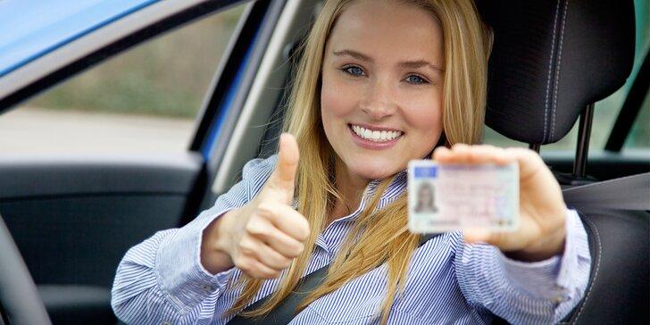Rezervace autoškoly k získání řidičského průkazu skupiny B