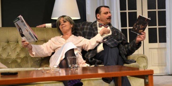 Vstupenka na divadelní komedii Začínáme končit v KD Peklo