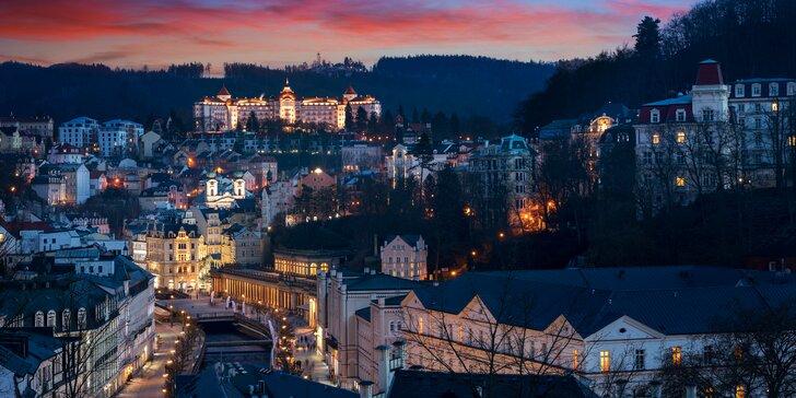 Relax v apartmánech v Karlových Varech se vstupem do Alžbětinných lázní