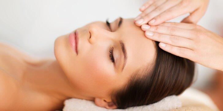 Luxusní jasmínové ošetření obličeje, dekoltu a šíje včetně akupresurní masáže