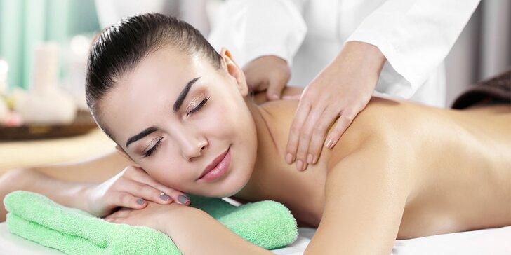 Kompletní celotělová masáž na uvolnění bolavých svalů