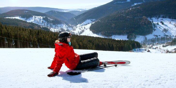 Ve dvou za pravou krkonošskou lyžovačkou: 3 dny v horské boudě u sjezdovek