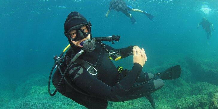 Intenzivní 4denní kurz potápění na lomu Srní