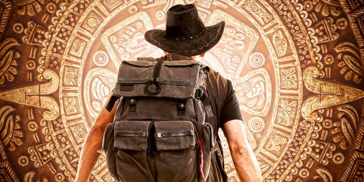 Indiana Jones je v nouzi, zachraňte ho: úniková hra pro tým až 6 chytrých hlav