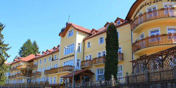 Lázeňský pobyt v Luhačovicích včetně plné penze, procedůr, bazénu i fitness