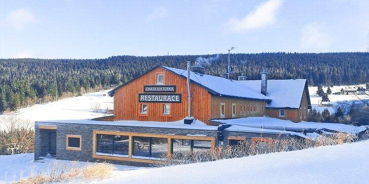 Čtyřdenní rodinná dovolená se snídaní v Peci pod Sněžkou od zimy až do léta