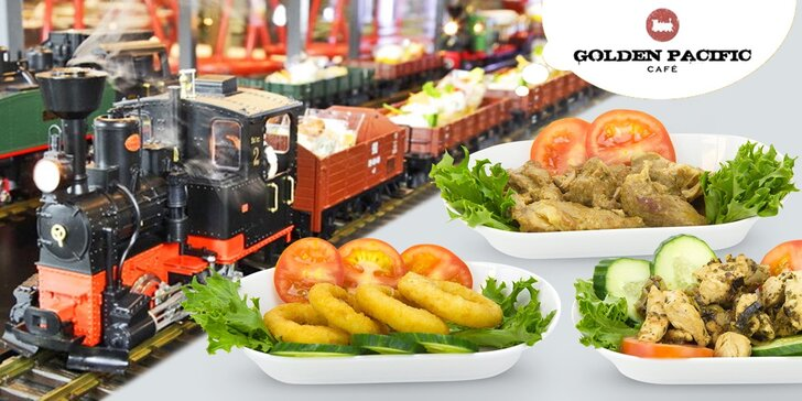 Snězte, kolik můžete: Vagon plný dobrot v mašinkové kavárně Golden Pacific Café